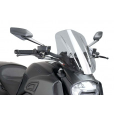 Naked New Generation plexi TOURING MODEL Ducati DIAVEL (2014-2017)