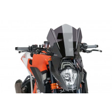 Naked New Generation plexi + GPS Tartó KTM 1290 SUPERDUKE R (2014-2016)